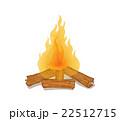 たき火 22512715