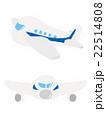 飛行機 乗り物 旅客機のイラスト 22514808