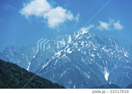 剱岳 日本一峻険な山の写真素材 [22517010] - PIXTA