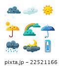天気 気象 天候のイラスト 22521166