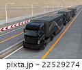 高速道路 トラック 乗り物のイラスト 22529274