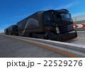 高速道路 トラック 乗り物のイラスト 22529276