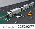 高速道路 トラック 乗り物のイラスト 22529277