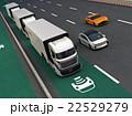 高速道路 トラック 乗り物のイラスト 22529279