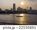 大桟橋 横浜 夕焼けの写真 22530891