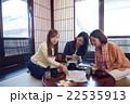 金沢を旅行する女性たち 22535913