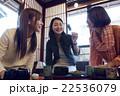 金沢を旅行する女性たち 22536079
