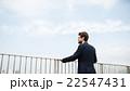 ビジネスマン 実業家 屋上の写真 22547431