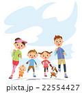 親子でランニング 22554427