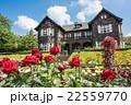 旧古河庭園 バラ園と洋館 22559770