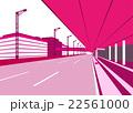 羽田空港第二ターミナル出発ロビー前道路 22561000