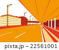 羽田空港第二ターミナル出発ロビー前道路 22561001