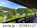 京都 南禅寺三門から望む境内と東山 22564117