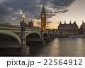 ビッグベン テムズ川 ロンドンの写真 22564912