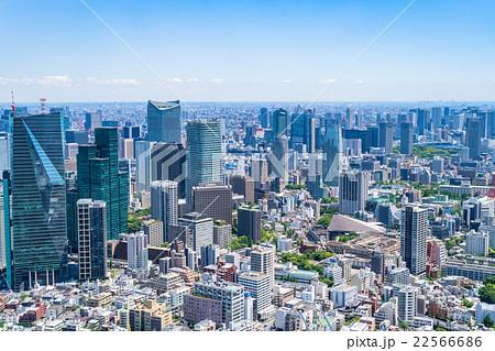 初夏の東京都市風景 22566686