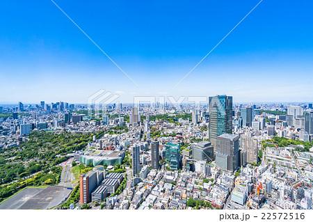 初夏の東京都市風景 22572516