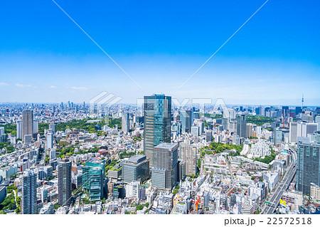 初夏の東京都市風景 22572518