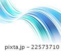 ウェーブ 波打つ 曲線のイラスト 22573710