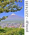 新東名と富士山-60250 22574385