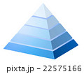 ピラミッド 22575166