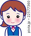 受付窓口 事務職女性 22577360