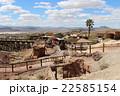 廃坑跡のゴーストタウンを走る蒸気機関車 アメリカ 22585154
