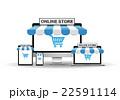 デバイスとインターネットショッピング 22591114