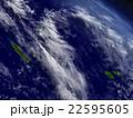 New Caledonia, Fiji and Vanuatu from space 22595605