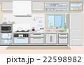 キッチン 台所 調理器具のイラスト 22598982