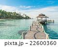 Wooden pier in Phuket, Thailand. 22600360