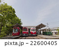 旧名鉄美濃駅 プラットホームと保存車両 22600405