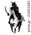 馬に乗る侍 22601065
