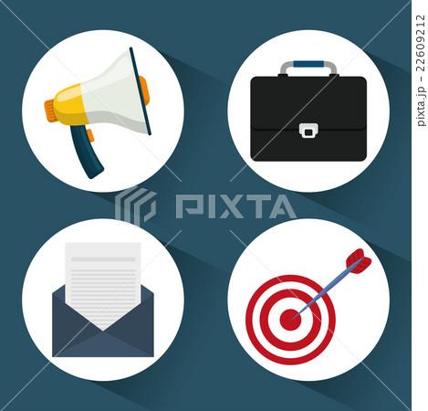 Digital marketing and advertisingのイラスト素材 [22609212] - PIXTA