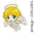 天使 女の子 人物のイラスト 22611801