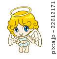 天使 女の子 人物のイラスト 22612171