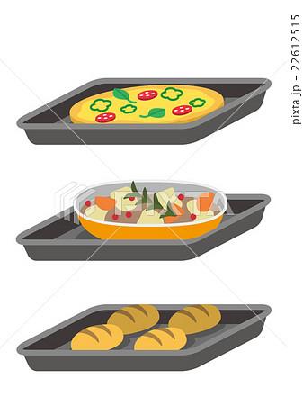 料理のセット 22612515