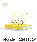 ブック 本 概念のイラスト 22616126