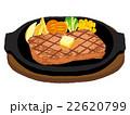 ステーキ イラスト 22620799