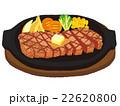 ステーキ イラスト 22620800
