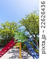 公園 空 遊具の写真 22626436