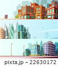 City Skyline 3 Horizontal Banners Set 22630172