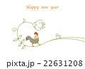 酉年年賀状 酉 年賀状のイラスト 22631208