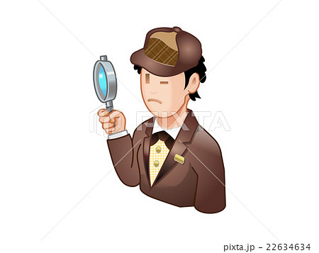 細部を調べる探偵 22634634