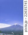 富士山 山 快晴の写真 22635745