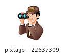 双眼鏡で調べる探偵 22637309