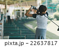 Japanese woman golfer , housewife 22637817