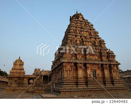 世界遺産「大チョーラ朝寺院群」のアイラーヴァテシュワラ寺院(インド) 22640493
