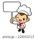 シェフ 料理人 料理師のイラスト 22643213