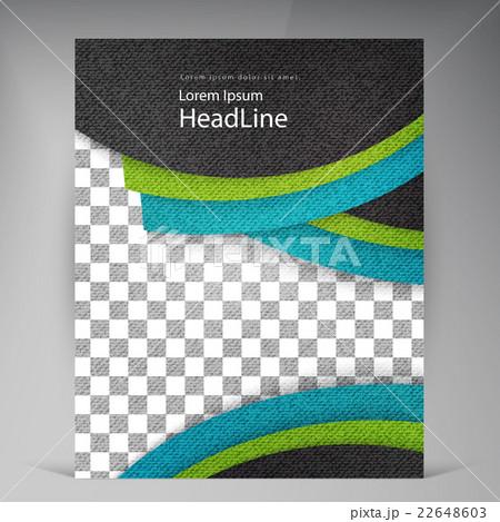 Abstract vector modern flyers brochure.のイラスト素材 [22648603] - PIXTA