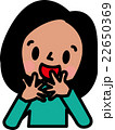 世界の子供 外国人 お顔 女の子 22650369